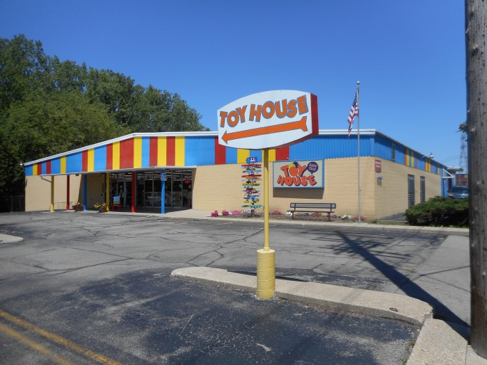 Inside the Closing of Toy House